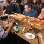 supersize pizza!