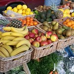 Organic produce - among the many fine foods available at Tullamore Food Fayre