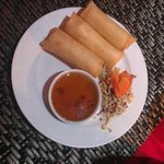 Crab & Cheese Spring Rolls