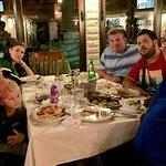 Вкусный ужин с черногорскими друзьями