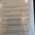 Glenforsa Hotel Restaurant Mains Menu