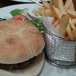 Caesars Italian burger