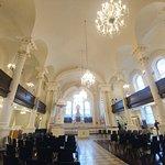 The interior of St Paul's Chapel - Lower Manhattan, NY (20/Oct/18).