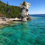 Flowerpot island from Greaf Blue Heron cruise