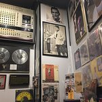 Some of the many displays. You can buy the records