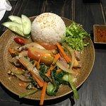 beef / rice