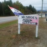 Monroe's sign
