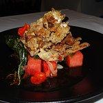 Soft shell crab starter