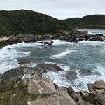 praia vista das pedras