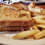 Toasted sandwich> patty melt