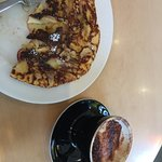 Dutch apple pancake