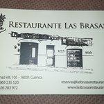 Tarjeta del Restaurante