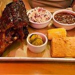Full rack of BBQ ribs