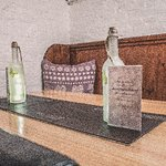 These are our quirky booths in our cellar area, have a private dining experience for 4 or 6 peop