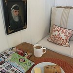 Interior of sunrise cottage with complimentary breakfast