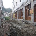 Gjirokastra Bazaar Bild
