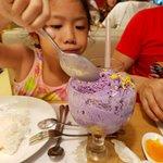 My daughter love Kuya J's halo-halo