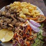 carne de cochino frita