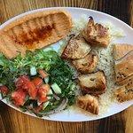 Chicken Shish Kabob Platter