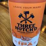 Three Notch'D IPA - local beer - recommended!