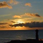 Photo of Te Moai Sunset