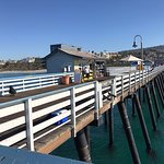 The beautiful pier in San Clemente