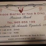 Foto de Amigos Bistro by Nas & Dino