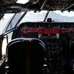 Cockpit of Transport Plane