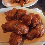Buffalo wings are a must