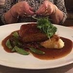 Slow roast belly pork