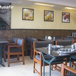 Interiors of the Gujarathi Thali Section.