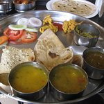 The Gujarathi Thali.