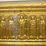 Golden altar piece