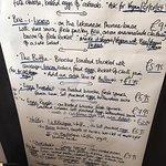 Sunday brunch menu pt2
