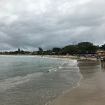 Visão de parte da praia