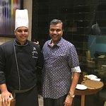 With Chef Irshad