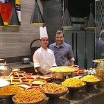 With Chef Arif