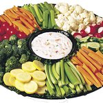 We also cater, Fresh veg and dip for the group. Yum
