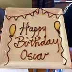 Oscar's Birthday Plate