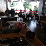 8 Indoor Tables - On Busy Street away from Tourism Area
