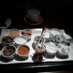 diferentes azúcares para el café/té