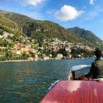 Giacomo taking us all over Lake Como