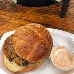Deviled Crab Sandwich