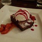 Chocolate Brownie with Ice-cream