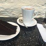 Chocolate cake And not chocolate