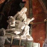 The Pieta, Mary holding Jesus