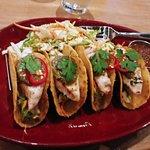 Mahi Mahi tacos - very spicy!