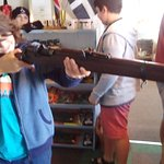 My 10yr old holding a SMLE