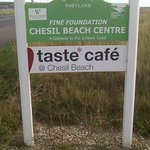 Full cafeteria (and toilet) facilities are available at Chesil Beach Visitor's Centre at Ferry B