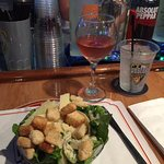 Caesar salad at Original Crabcake Factory, Ocean City, Md.